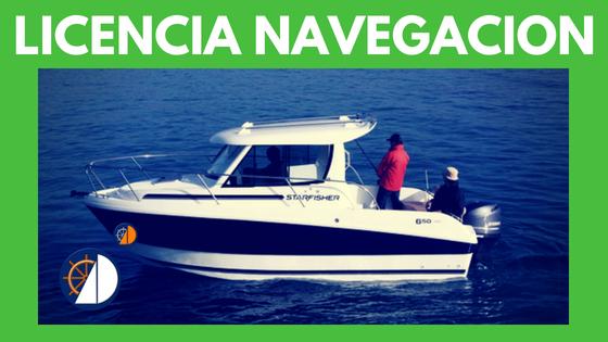 Licencia nautica sevilla