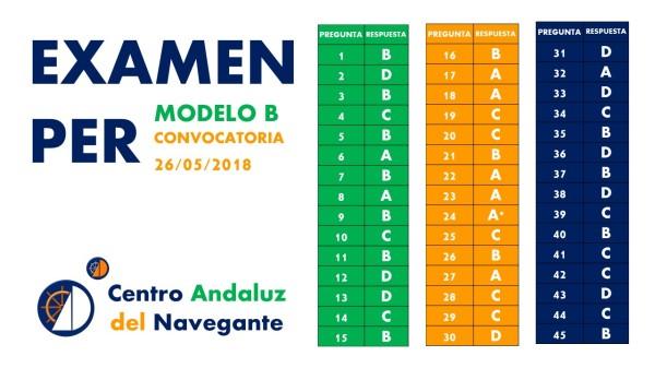 RESPUESTAS EXAMEN PER MODELO B 26052018